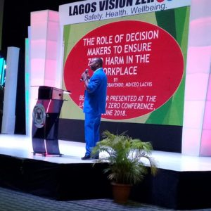 LACVIS MD, Presents Paper On Safety At Lagos Vision Zero Conference